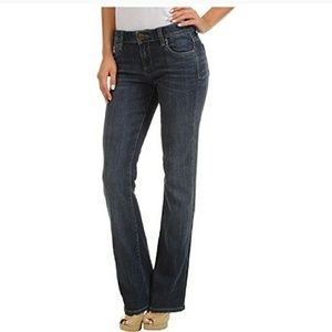 Kit from the kloth Farrah baby bootcut size 12